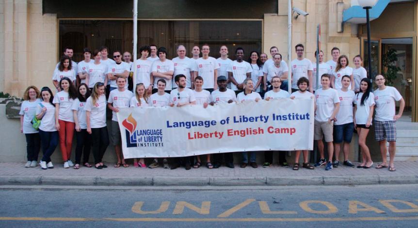 Malta: Speaking the Language of Liberty