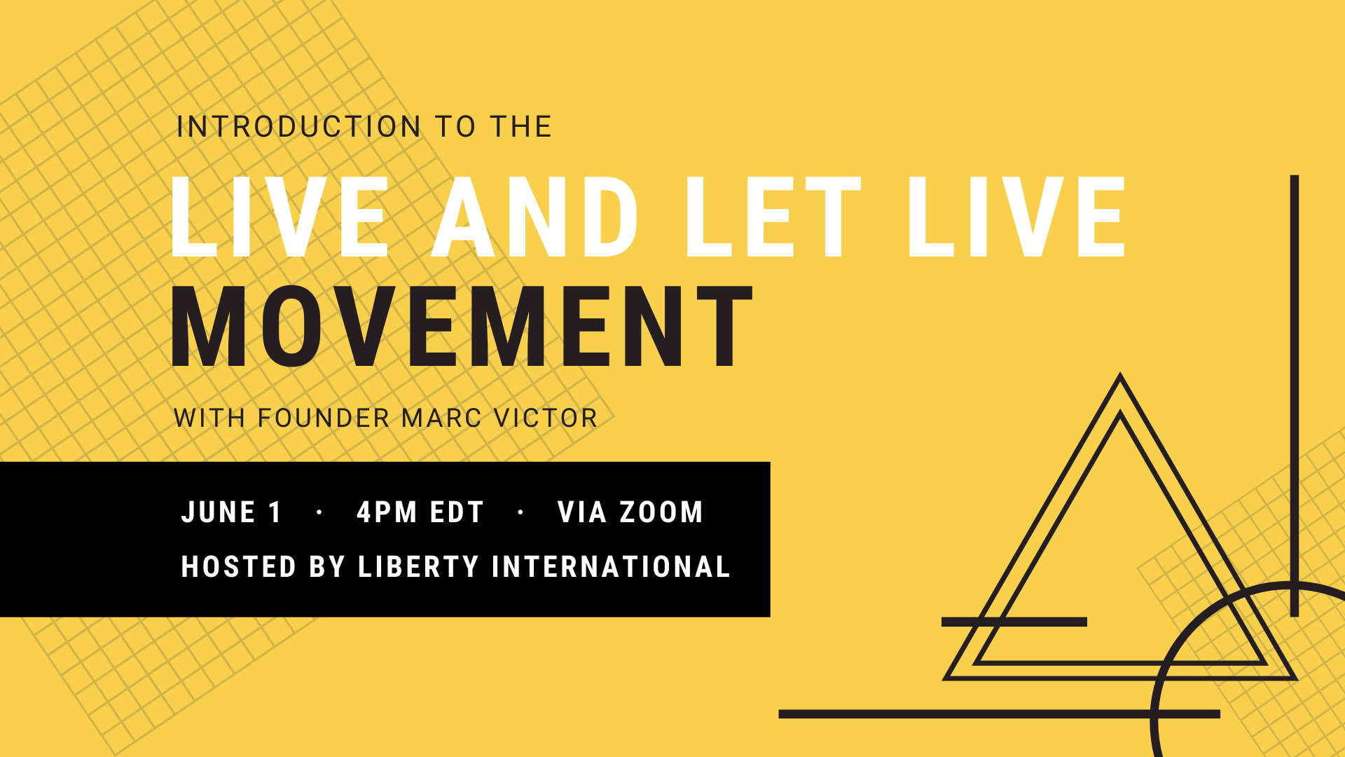 Watch Now: Live and Let Live Movement