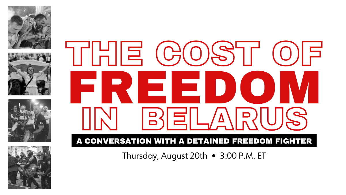 New Video: Discussing Belarus Protests with Maria, Local Activist