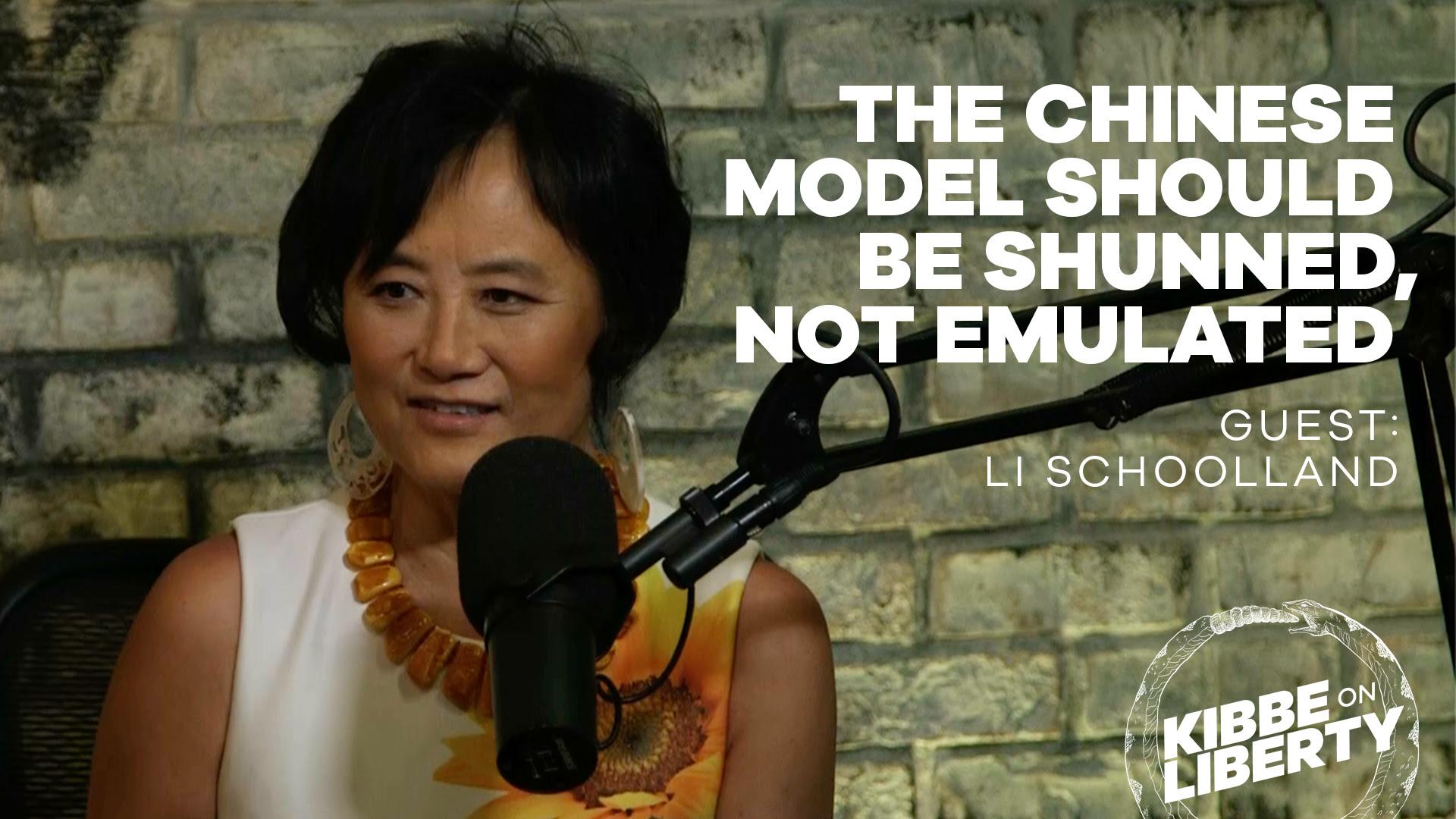 Li Schoolland on Liberty podcast
