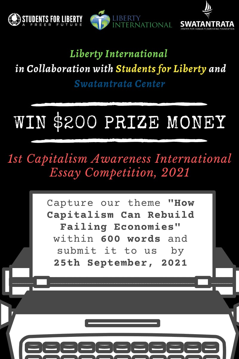 Capitalism Awareness Campaign Essay Competition
